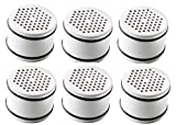 Culligan WTR FiltrationCartridge Certified WHR-140 Replacement Cartridge Filtered Shower Heads, White, 6 Pack
