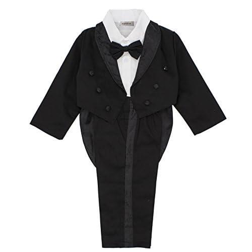 nice stylesilove Kid Baby Boy Tuxedo Wedding 3-Piece Outfit free shipping