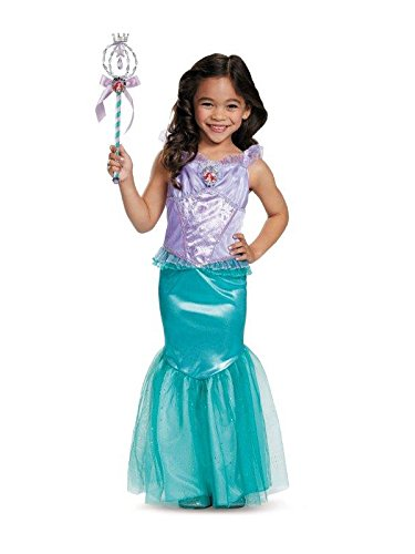 Ariel Deluxe Disney Princess The Little Mermaid Costume,