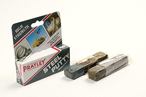 6 x Pratley Steel Metal Adhesive Epoxy Putty 125g / 4.4 ounces 84136 New by Pratley