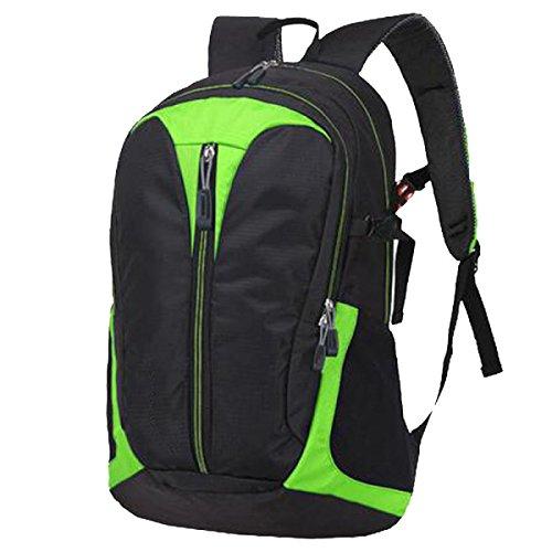 Xin Shu Hombros Al Aire Libre Alpinismo Deportes Mochila Bolsa De Hombro De Montar Senderismo Bolsa De Equipaje Bolsa De Estudiante. Multicolor Green