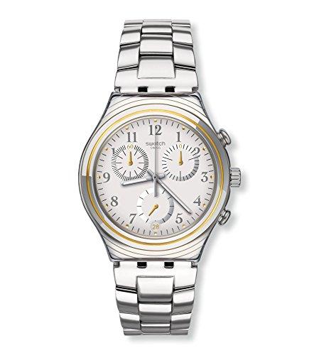 [Swatch] SWATCH watch IRONY CHRONO (Irony Chrono) SILVERNOW YCS586G Men's [regular imported (Chrono Swatch Watch)