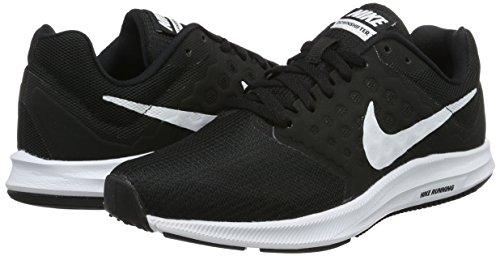 noir Noir 7 Downshifter blanc De Nike Femme Chaussures Running 0Y44pq