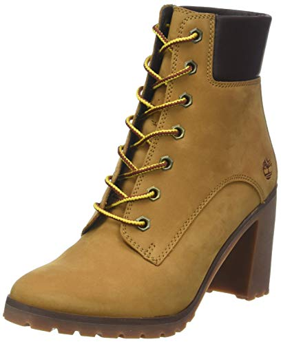 231 Marron Femme Timberland Lace wheat Up 6 Bottes inch Hautes Allington wFwqx48v