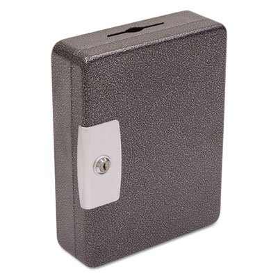 FireKing International Key Cabinet, 100 Tags, Black/Silver