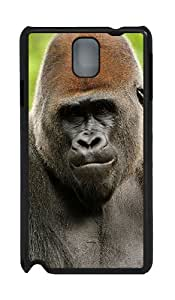 Samsung Galaxy Note 3 N9000 Cases & Covers -Gorilla Custom PC Hard Case Cover for Samsung Galaxy Note 3 N9000¨CBlack