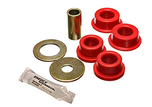 Energy Suspension 87104R Bushings - Energy Suspension Track Arm Bushing Sets Bushings - Track Arm - Rear - Polyurethane - Red - Toyota - 4Runner - Set
