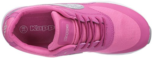 Sneakers Pink 2215 Pink Femme Milla silver Basses Kappa HqTwY8