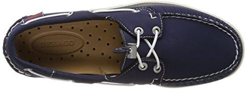 Sebago Docksides, Náuticos Para Hombre Azul (Navy Ariaprene)