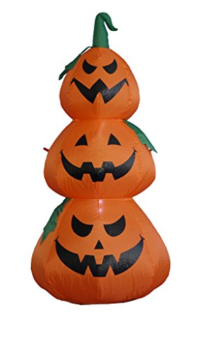 BZB Goods Halloween Inflatable Pumpkins Decoration, 4'