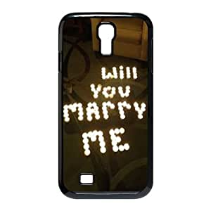 Clzpg Cheap SamSung Galaxy S4 I9500 Case - Will you marry me case cover
