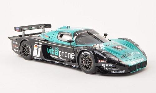 Maserati MC12, No.1, Vitaphone Racing Team, FIA GT1 , 2010, Modellauto, Fertigmodell, AUTOart 1:18