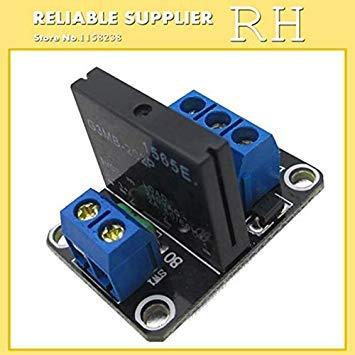 Sellify Equipements électriques 1pcs / lot 1 canal 1 Route 5V 12V 24V à faible niveau de déclenchement Module Relais statique avec fusible 250V2A Pour Arduin - (Taille: 12 V): 12V Generic
