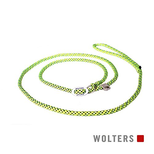 Wolters | Moxonleine Everest reflektierend in Fuchsia/Pflaume | L 180 cm x B 1,3 cm