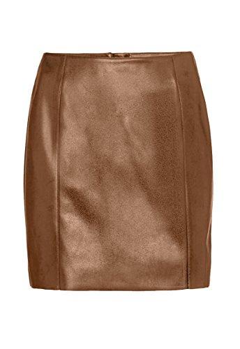 Luxury Genuine Leather Custom Made Lady Mini Skirt Back Zip Office Lady Club Skirt #S12