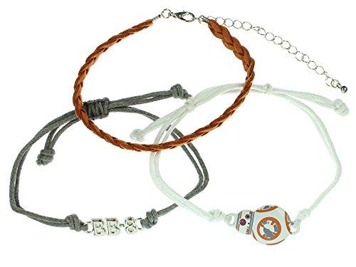 Star Wars BB-8 Bracelet Set (Princess Leia Disney Princess)