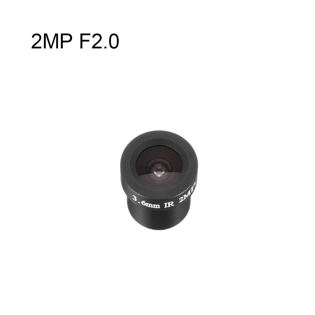 uxcell 12mm 5MP F2.0 FPV Camera Lens Wide Angle for CCD Camera
