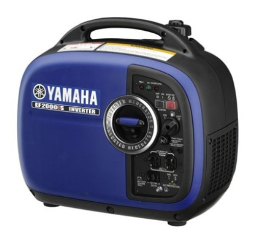 Yamaha EF2000iSv2, 1600 Running Watts/2000 Starting Watts, Quiet Generator