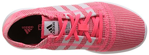 adidas Element Refine Tricot W - Zapatillas para mujer Rosa / Blanco