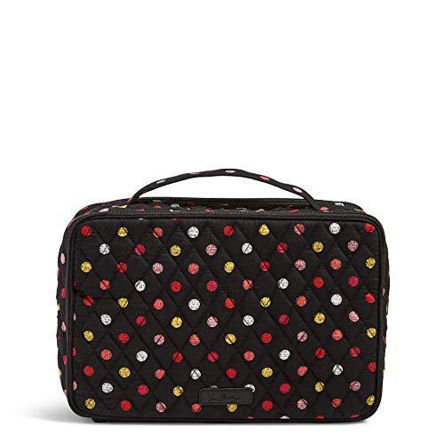 - Vera Bradley Large Blush & Brush Makeup Case, Havana Dots