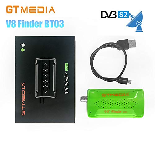 GTMedia V8 Finder BT03 DVB-S2 Satellite Signal Finder Box BT Connect Via Phonee APP
