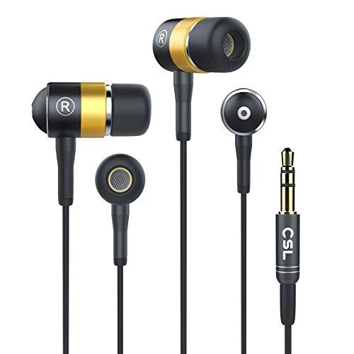 CSL - 630 ALU Auriculares/audífonos estéreos | in-Ear Superiores de Aluminio de Gama Alta Serie 2017 | Transductor acústico de...