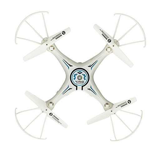 Astro Drone 6CH 2.4G 6-Axis with 2MP HD Camera RTF Gyro Drone with 4GB Memory Card- white