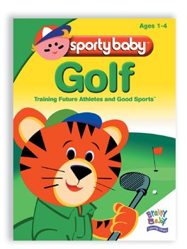 Brainy Baby Sporty Baby Golf DVD