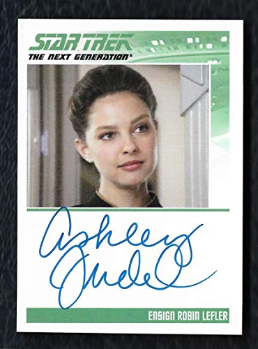 2012 Star Trek The Complete TNG Series 2 Autograph Ashley Judd as Ensign Robin Lefler