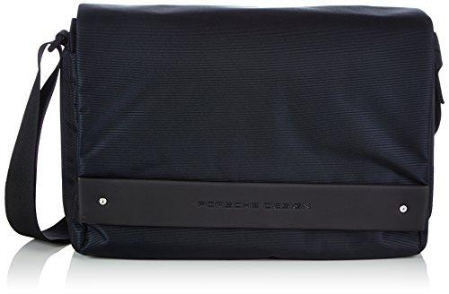 Sac à bandoulière Porsche Cargon 2,5 Fm Messenger Bag pour homme, bleu (bleu (bleu foncé 402)) 27x15x13 cm (l X W)