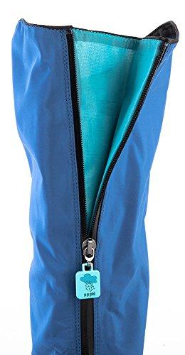 Go Go Golosh Womens Rain Snow Overshoes Blue Belle