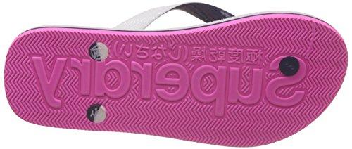 Rainbow Blanc Tong Flop Flip Femme Taille Scuba Superdry pxC7dqq