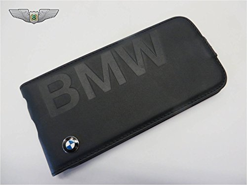 BMW New Genuine Handy Flip Cover iPhone 5C black80282358182