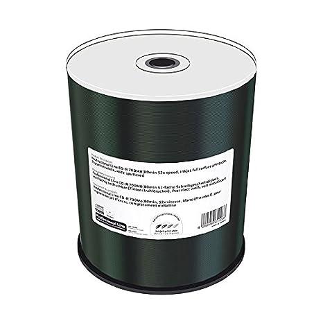Amazon.com: MediaRange mrpl501-c CD in White – CD-RW Virgin ...