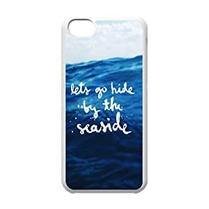 Cases for IPhone 5C, Let go Hide Cases for IPhone 5C, Psychedelic Anime White