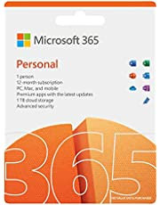 Microsoft 365 Personal | 12-Month Subscription, 1 person | Premium Office apps | 1TB OneDrive cloud storage | PC/Mac/iOS/Android/Chrome Download