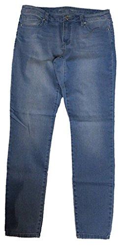 Michael Kors Womens Basics Denim Blue Jeans Light Indigo Wash - Michael Kors Junior