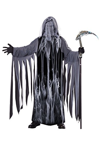 California Costumes Men's Soul Taker Scary Ghost Demon