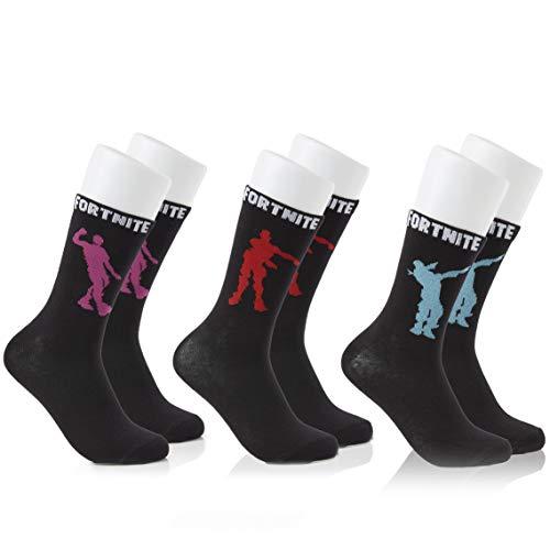 41Fevb0i%2B L. SS500 100% Algodón máxima calidad Producto Licencia Oficial con del Fabricante 100% Poliéster Fortnite calcetines