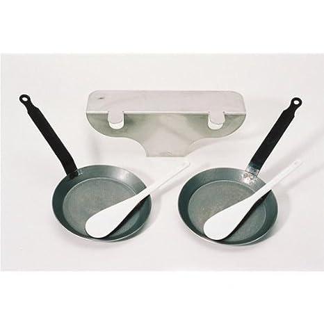Bron Coucke REB02 - Kit para sartenes para parrillas, Inox: Amazon.es: Hogar