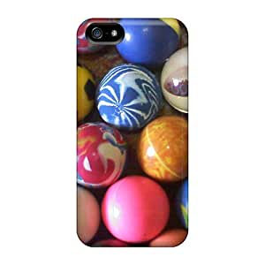 Samsung Galaxy S5 I9600/G9006/G9008 Balls Print High Quality Frame Cases Covers