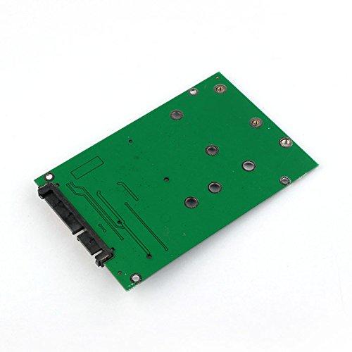 CY 2 in 1 Combo Mini PCI- E 2 Lane M.2 NGFF & mSATA SSD to SATA 3.0 III Adapter Converter PCBA by CHENYANG (Image #1)