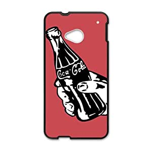 Happy Drink brand Coca Cola fashion cell phone case for HTC One M7