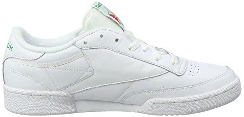 Club Archive White 85 Zapatillas Hombre para Glen Red Blanco C Excellent Reebok Green BFqTxwRnR