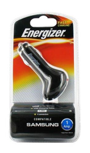 Energizer- Cargador USB para mechero de Coche, Apto para ...