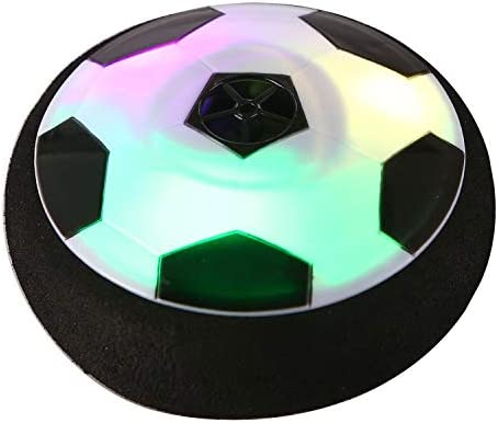JOSE9A Xmas Air Power Soccer Disc Football con Parachoques De ...