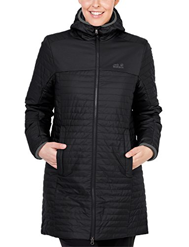 Jack donna cappotto Black Clarenville Wolfskin r8SOzar