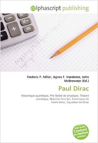 Lire un livre télécharger mp3 Paul Dirac: Mécanique