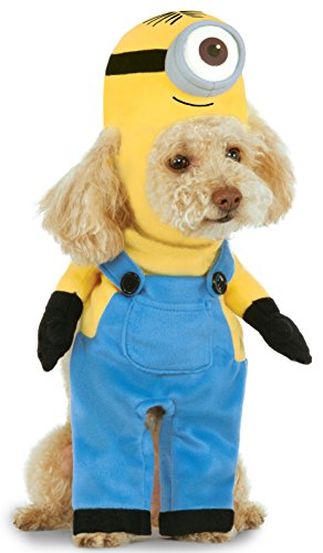 Best Halloween Costumes Minion (Minion Stuart Arms Pet Suit, Medium)