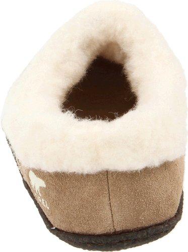 265 NL1474 Tan Pantoffeln Sorel Damen Beige Nakiska British SwfqcC4
